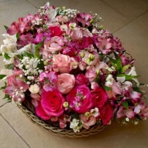 cesto de flores site